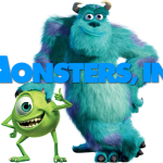 Image from the Pixar movie Monsters Inc.