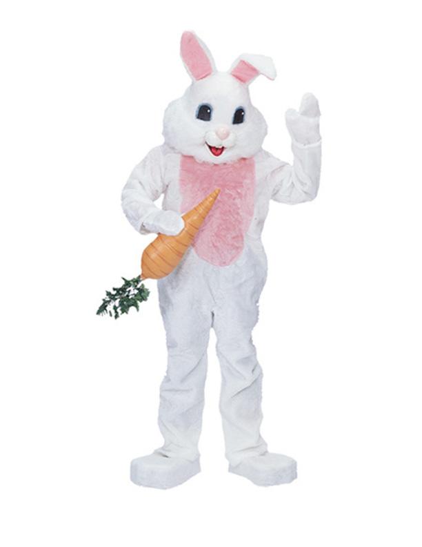 Really ugly bunny rabbit costume.