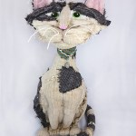 More realistic cat doll made in memory of Opie, a most magnificent cat.