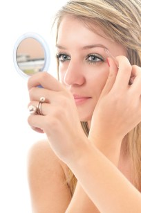 mirror eyebrow