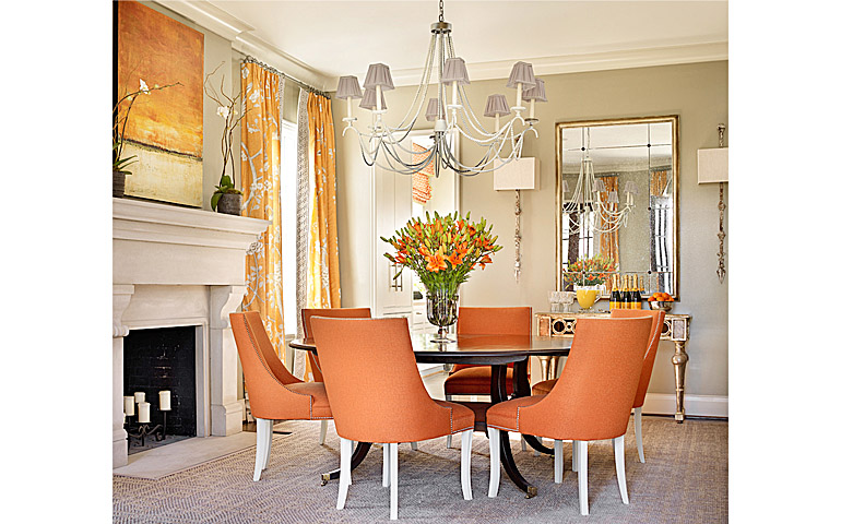 Catherine M. Austin Interior Design/ Glenview Dining Room