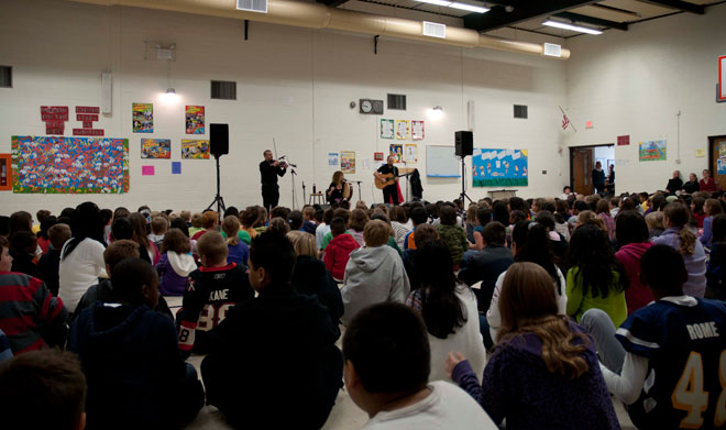 Cathie Ryan School Assembly