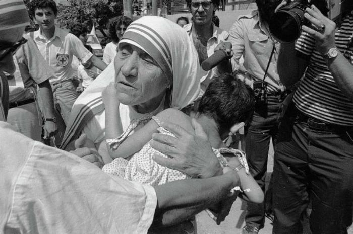 Mother Teresa dedicated her life to caring for the sick and needy.
