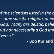 Are All Great Scientists Atheists?