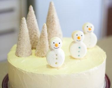 Christmas 2012 – Red Velvet White Christmas Cake