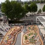 Project Morrinho, a model favella made of 4,000 painted bricks