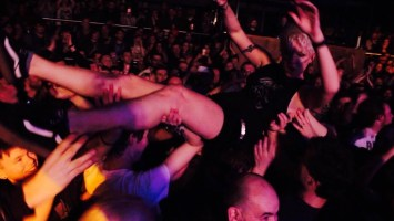 Crowd Surfing at London Scala