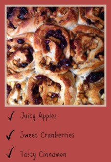 Apple and Cranberry Buns
