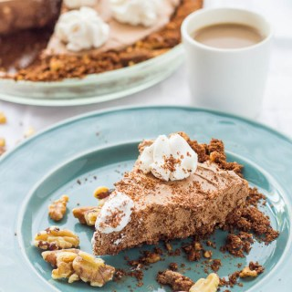 Coffee Chocolate Crunch Pie-3