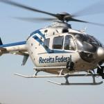 Receita Federal desloca helicóptero para missão em Foz do Iguaçu (PR)