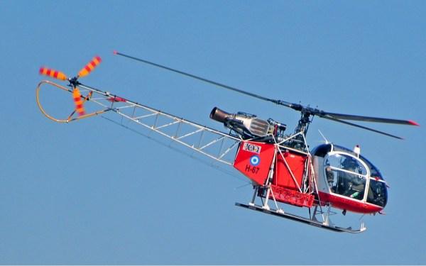 Aérospatiale SA 315B Lama Argentina