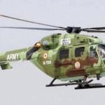 Acidente com helicóptero HAL Dhruv do Exército Indiano