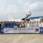 Voa o primeiro KAI FA-50PH para Força Aérea das Filipinas