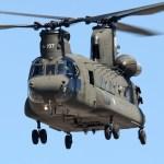 Marrocos recebeu três helicópteros CH-47D Chinook