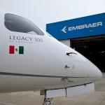 Embraer entrega primeiro jato executivo Legacy 500 no México
