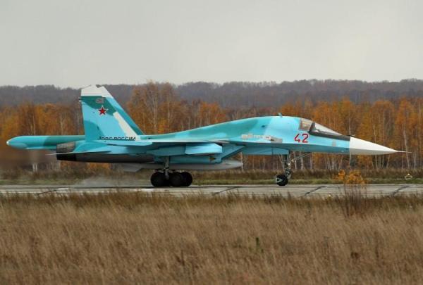 Su-34 (Red 42) - VKS