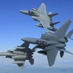 Nem bem chegaram e já estão retornando. USAF encerra desdobramento de caças F-15 na Turquia