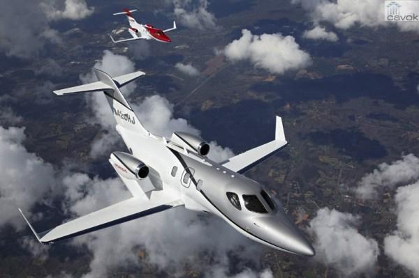 HondaJet recebe certificação da FAA. (Foto: Honda Aircraft)
