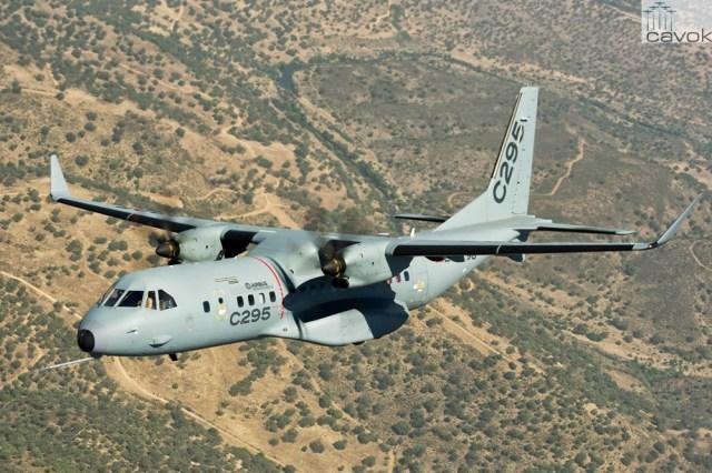 Airbus Defence & Space C295 (Foto - Airbus)