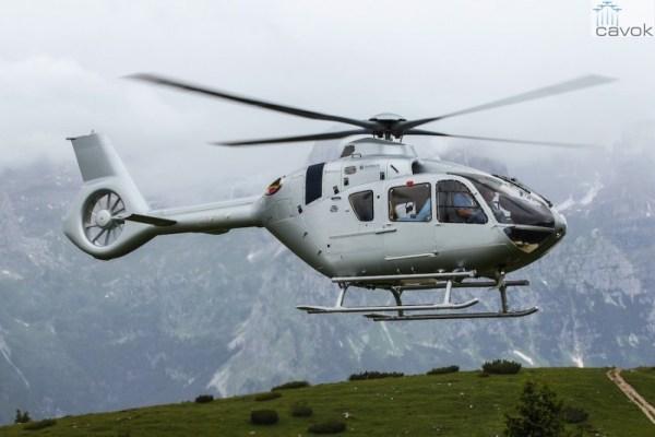 A Airbus Helicopters fechou um acordo com um consórcio chinês para venda de 100 helicópteros leves H135 que serão montados em Qingdao, na China. (Foto: Airbus Helicopters)