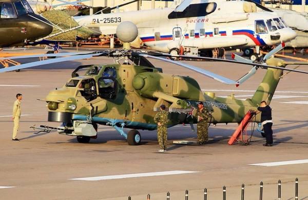 A primeira foto da nova versão do Night Hunter, o Mi-28NM, visto na unidade da Mil em Moscou. (Foto: Alexei / RussianPlanes)
