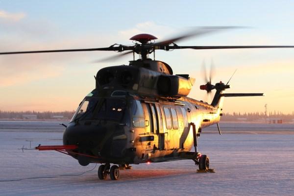 Um helicóptero KUH-1 Surion das Forças Armadas da Coreia do Sul.