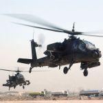 Dois helicópteros AH-64 apache colidem em voo na Coreia do Sul