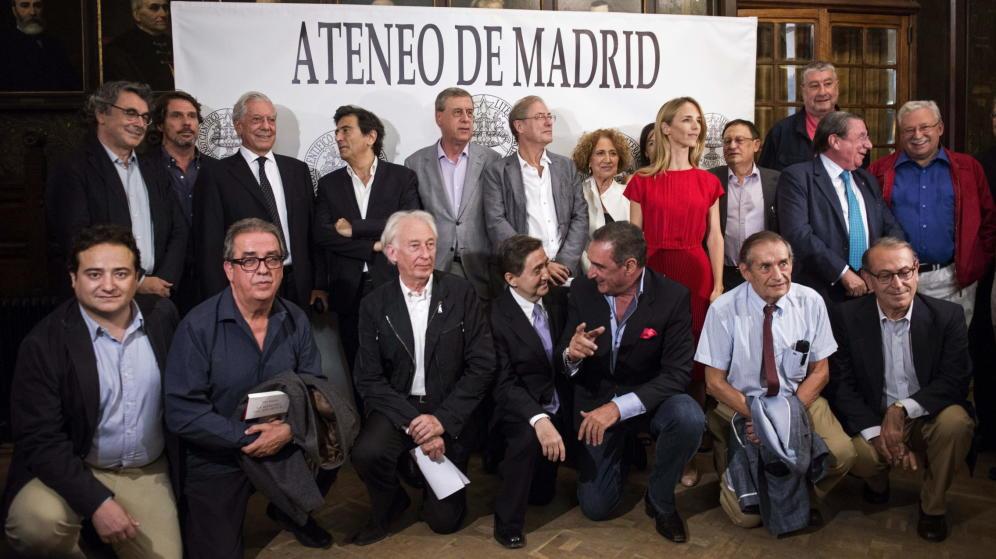 Acto de Libres e Iguales Por la responsabilidad civil, Ateneo de Madrid, 22 de septiembre de 2015.