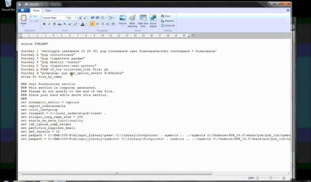 OrCAD/Allegro PCB Editor Keyboard shortcuts