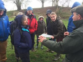Alice Thorne explains Lidar at the first tour of 2016