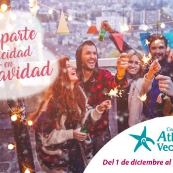 Navidad en el CC Atlantico Vecindario