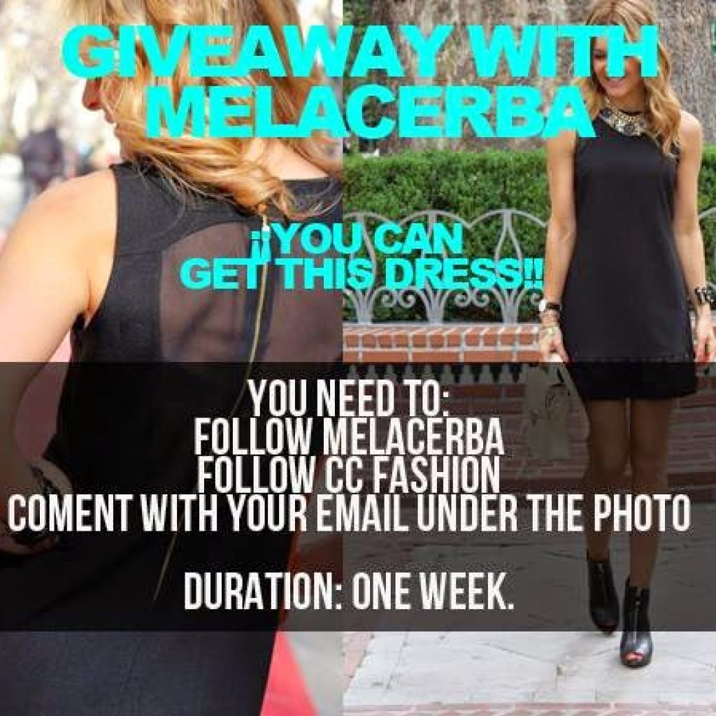 GIVEAWAY WITH MELACERBA