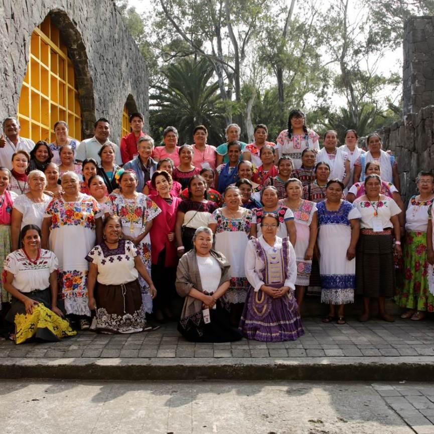 Cocineras Tradicionales de México IV Foro Mundial de la Gastronomia Mexicana