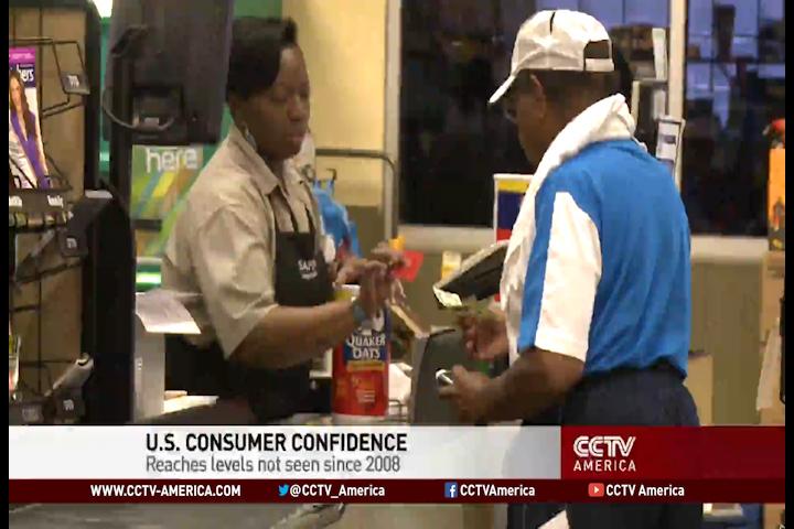 U.S Consumer confidence high