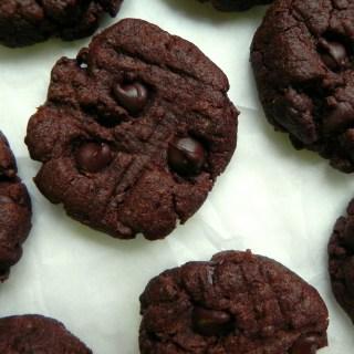 Chocolate Flourless Peanut Butter Cookies Ceara's Kitchen #vegan #glutenfree