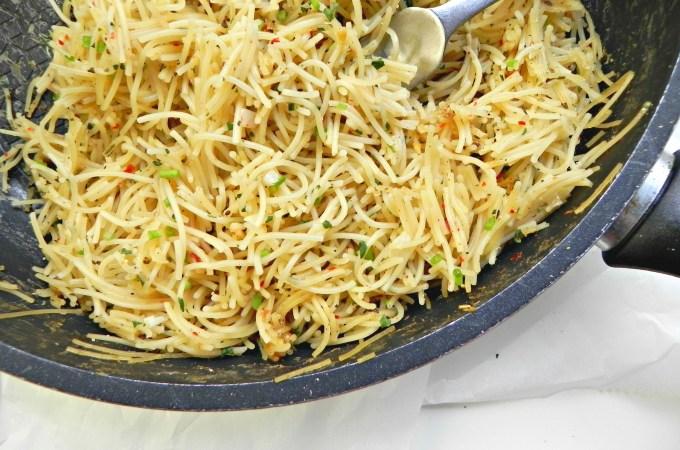 broken spaghetti risotto vegan2
