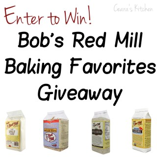 Bob's Red Mill Giveaway Square
