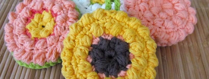Tawashi Scrubber Crochet Pattern by Cedar & Linn