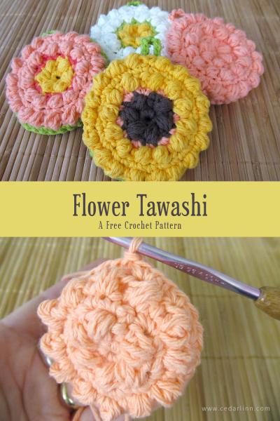 Flower Tawashi