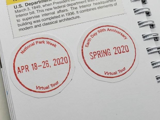 National Park Week 2020 Virtual Passport Cancellations