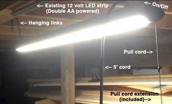 LED-Shop-Light-unboxing-hanging