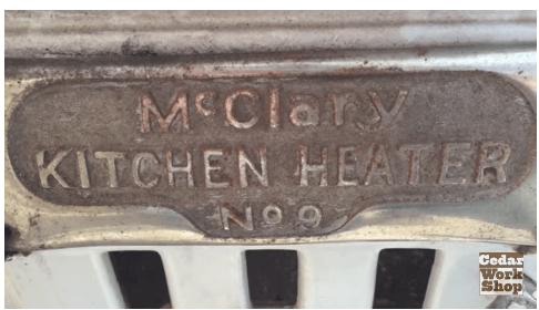 McCleary Kitchen Heater No9 woodstove