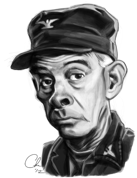 Col Potter Sketch