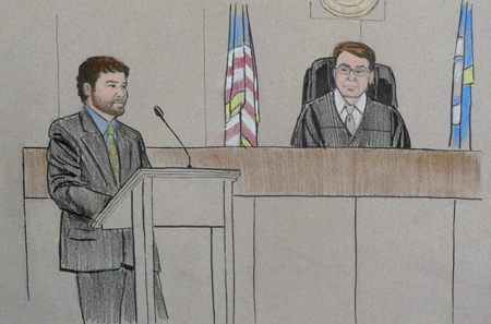 Amy Senser trial-courtroom sketch 2