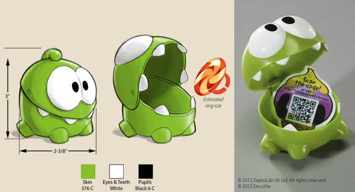 &quot;Cut The Rope&quot; Toy Design