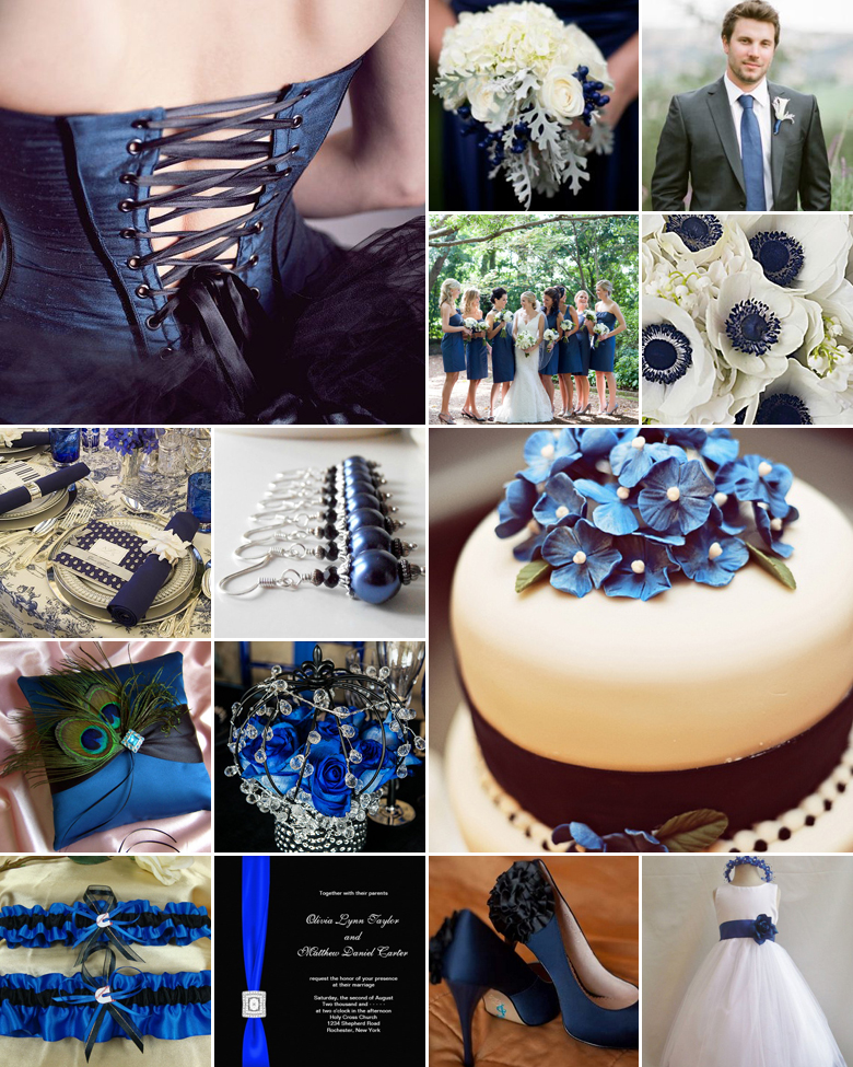 black-and-blue-weddings