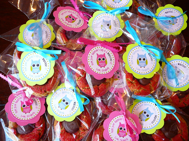 Valentine's Day Favor Tags - great for school teachers and friends!