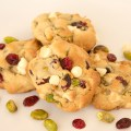 White Chocolate Chip Cranberry Pistachio Cookies