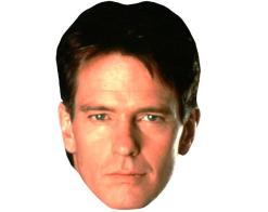A Cardboard Celebrity Mask of Gordon Thompson