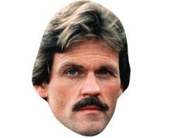A Cardboard Celebrity Mask of Ken Kercheval